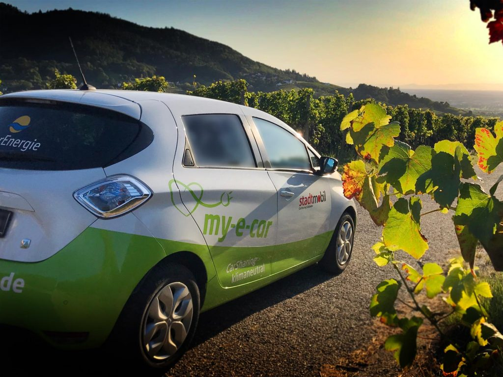 Elektro-CarSharing innovativ klimaneutrale Mobilität